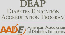 Diabetes Education Accrediation from the American Associates of Diabetes Educators
